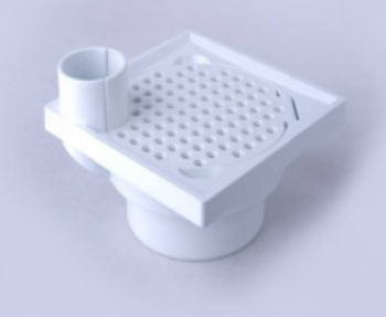 6'' Floor trap grating with 1-1/2